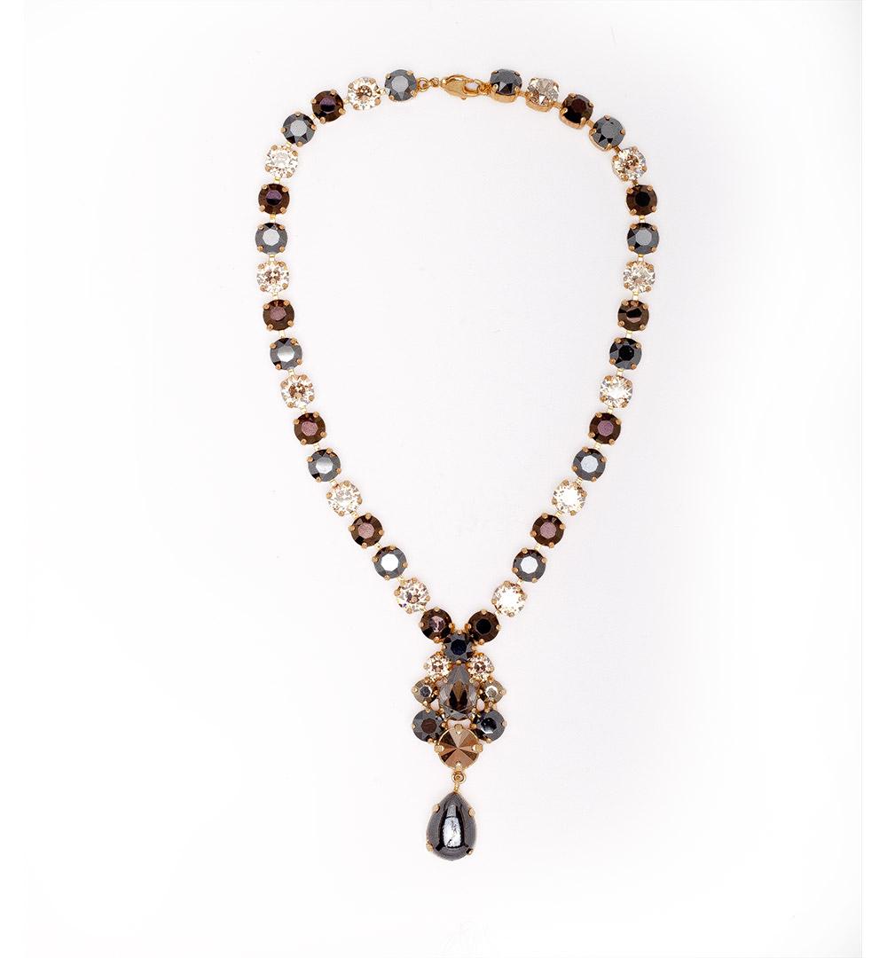 Necklace 18-K 1172-goldbrown