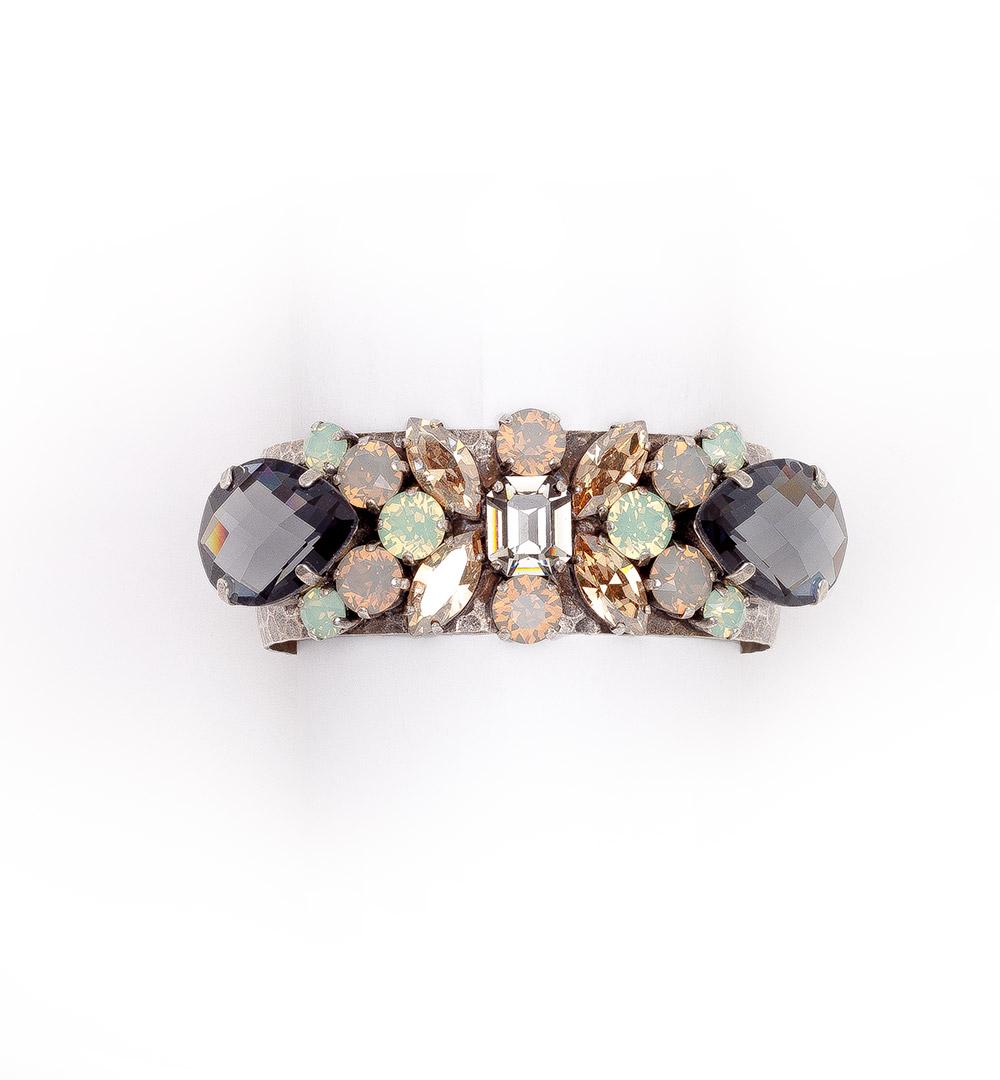 Bracelet 04-B808-greygreenopal