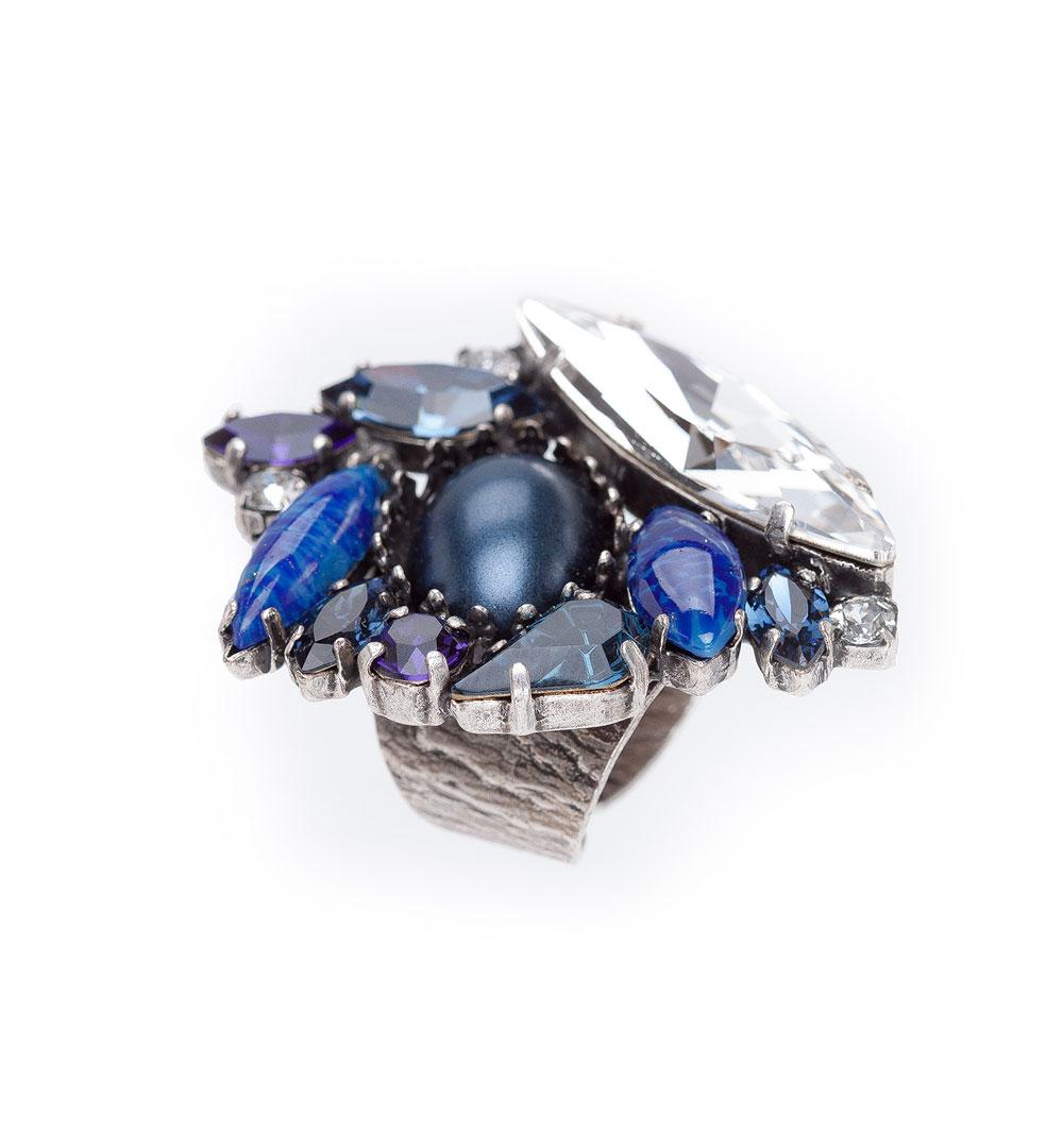 Ring 66-D 1427-blue