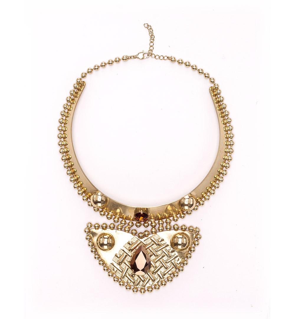 Necklace 43-K 1230-gold