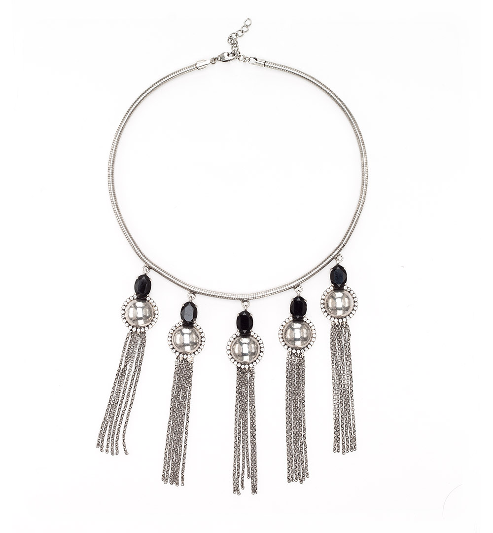 Necklace 14-K 1203-silver
