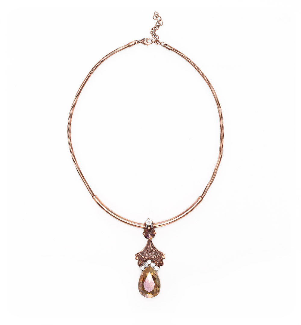 Necklace 12-K 1219-pinkgold