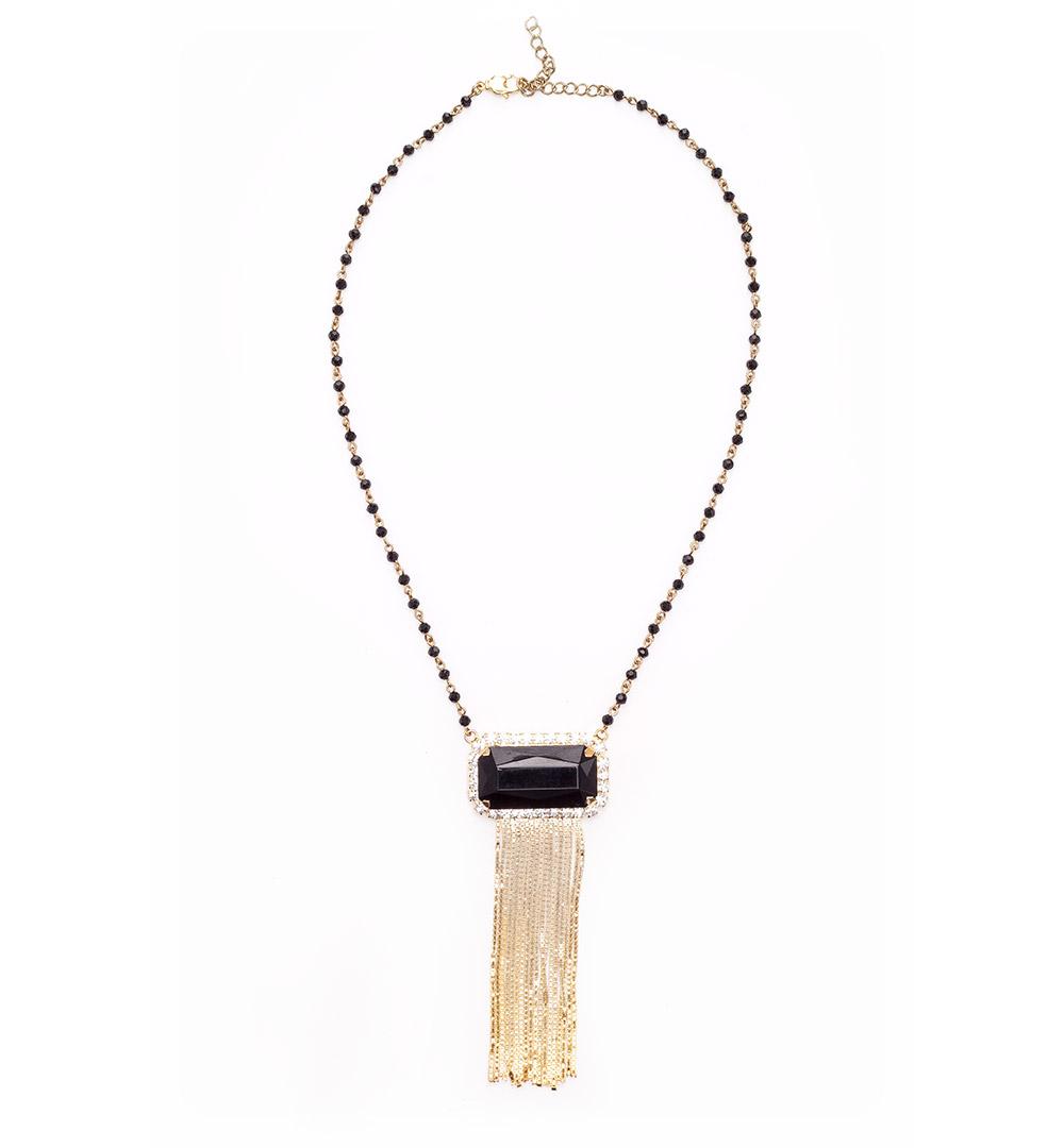 Necklace 05-K 1211-goldblack