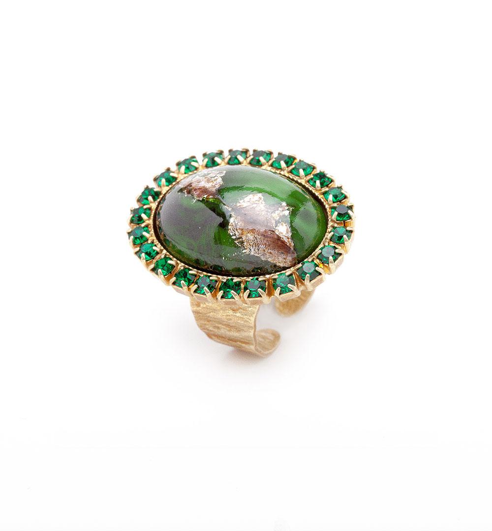 Ring 02-D 73-green