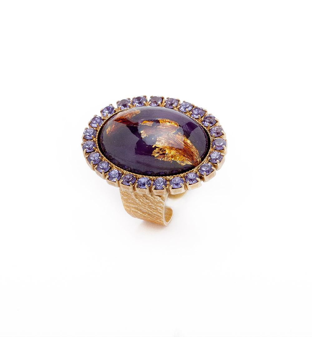 Ring 03-D 73-purple