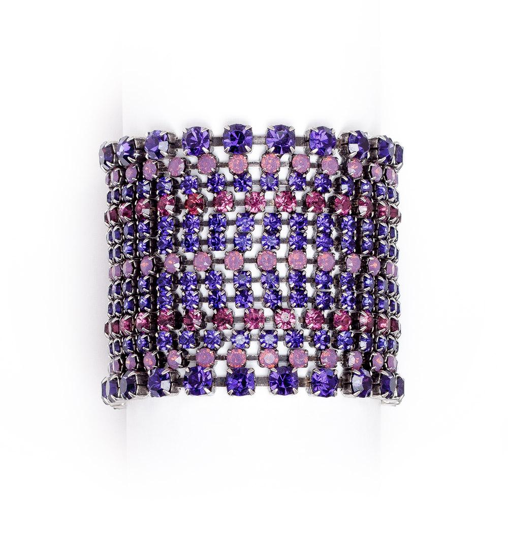 Bracelet 27-B 488-purple