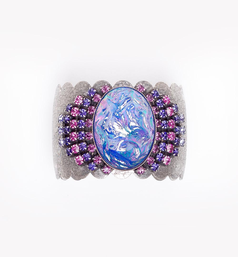 Bracelet 18-B 736-purplefuchsia