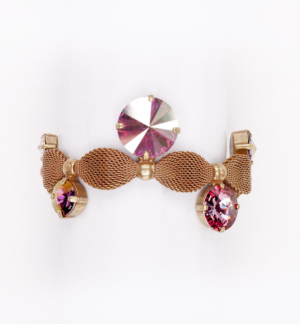Bracelet 10-B 858-anticpink