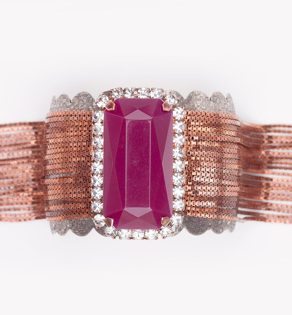 Bracelet 17-B 862-purple