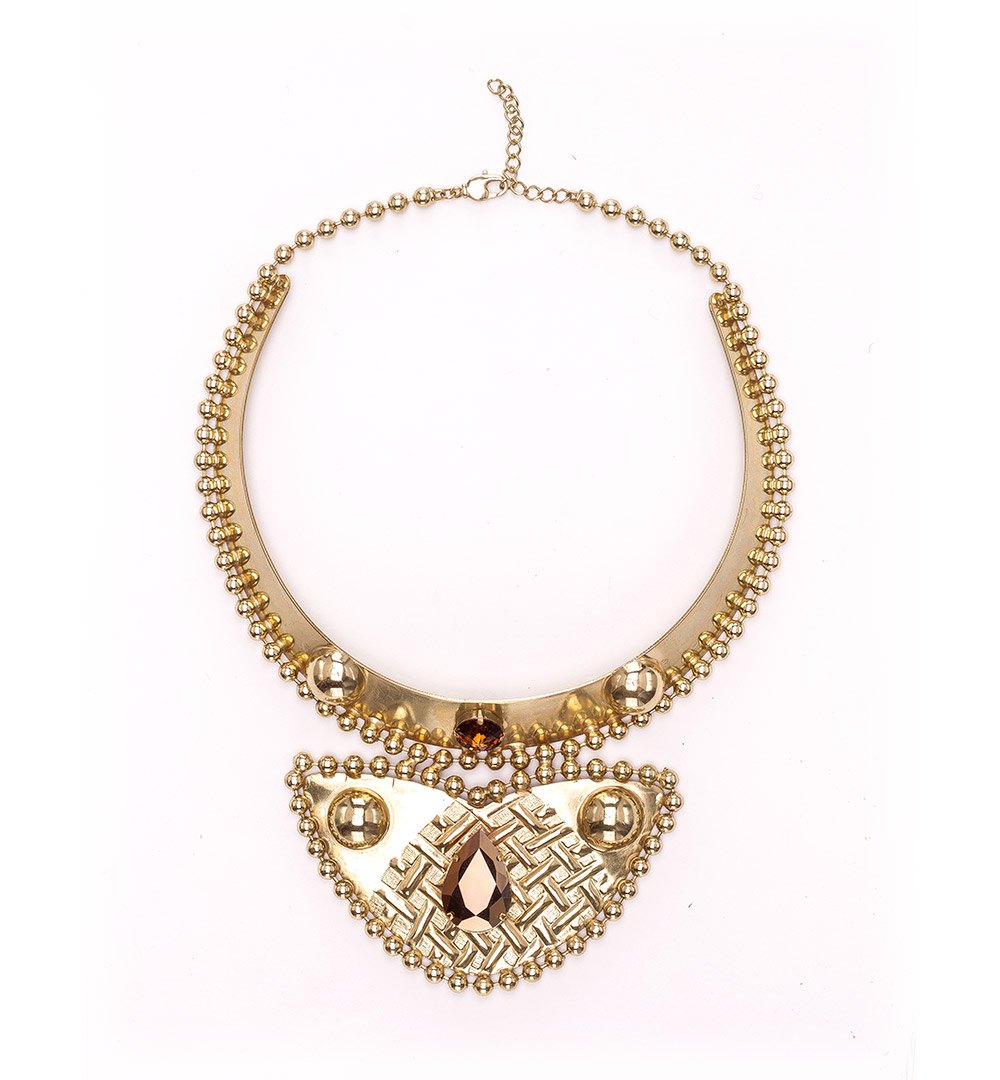 Necklace 43-K 1230-gold
