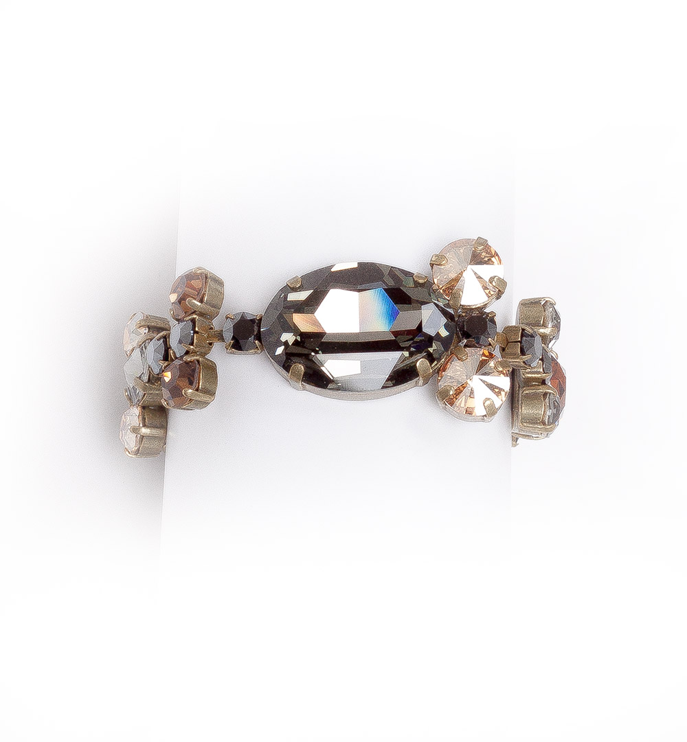 Bracelet 12-B 809-greybrown
